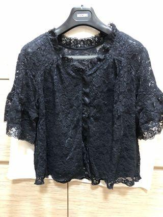 Nice Claup Lace Top