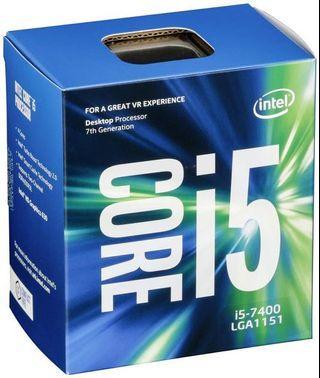 Intel i5-7400 desktop processor