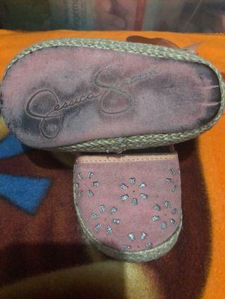 JESSICA SIMPSON BABY SHOES size4