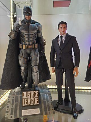 自組 1/6 Batman dark knight 蝙蝠俠 西裝 Bruce Wayne 一隻 非hottoys