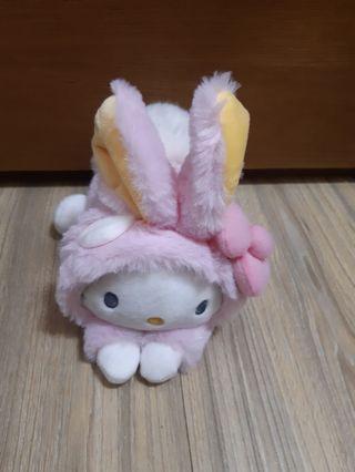三麗鷗兔裝娃娃 Hello kitty