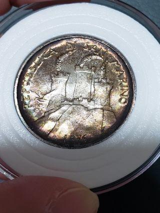 1976年 聖馬力諾 銀幣