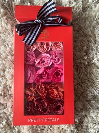 Dissolving Bath Rose Petals