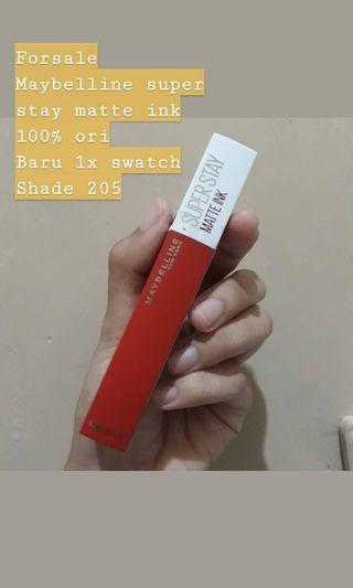 Maybelline Super Stay Matte Ink Shade 205 Assertive