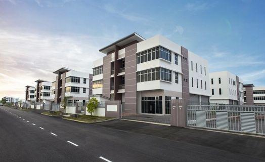 3sty Semi-D Factory 60'x132' I-PARC@Tanjung Pelepas, Gelang Patah, Johor for ONLY RM1,385,000 (Market value RM1,900,000)