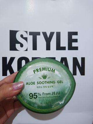 Missha aloe vera premium gel