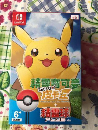 Switch pokemon let go with ball