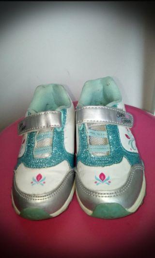 Sepatu LED Disney Frozen size 25