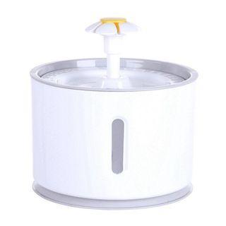 小花噴泉湧泉飲水器
