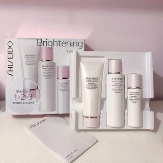 (包郵)Shiseido White Lucent Travel Gift Set 美白保濕旅行套裝