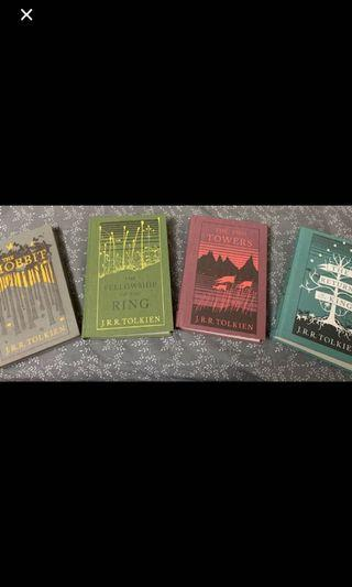 The Hobbit & Lord of the Rings hardcover book collection
