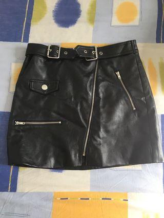 Forever 21 sexy leather skirt