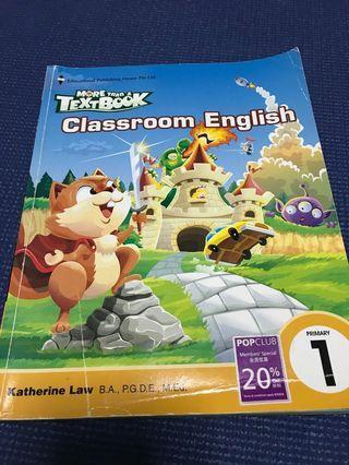 🚚 More than a textbook Classroom English 1