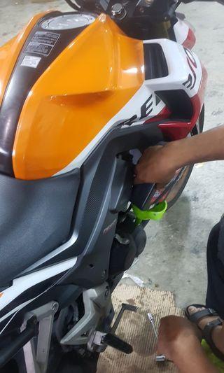 Instock Liquimoly Engine Oil Servicing class 2b - Honda CB190R