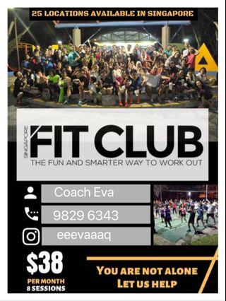 Fitclub-everyone can join