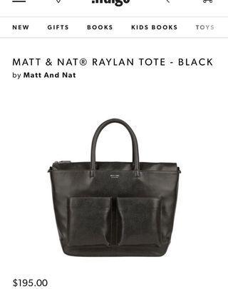 Matt & Nat Tote Bag