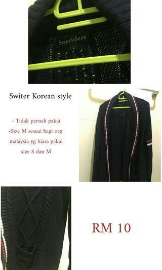 Knight korea sweater
