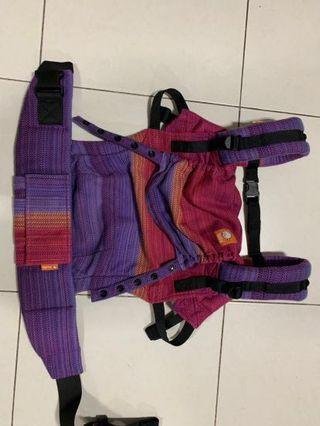 🚚 EUC Tula Full WC Apple Blossom Journey Purple Weft - FTG