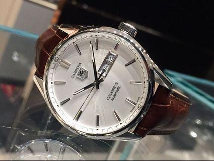 CHEAPEST!! New Tag Heuer Carrera Calibre 5 Day Date 41mm Latest Model
