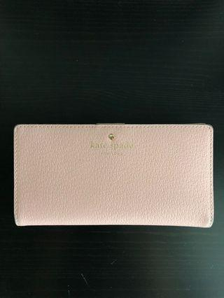 Kate Spade Bifold Wallet, Pink, Great Condition