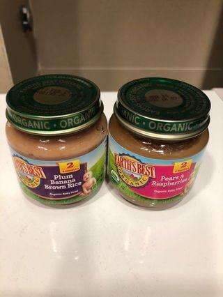 🚚 BN Earth's Best baby food