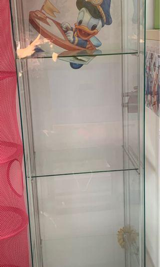 Glass Cabinet x 2