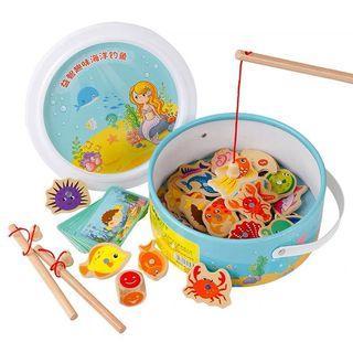 🚚 幼兒磁吸釣魚玩具