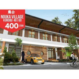 Nouka Village cisarua lembang japanese architecture ALL IN