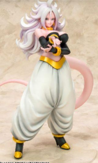 (PO) Dragon Ball Gals _ Dragon Ball Fighterz Android 21 Henshin Ver. Complete Figure