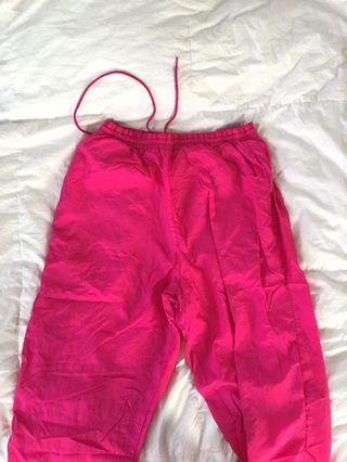 Hot Pink Track Pants