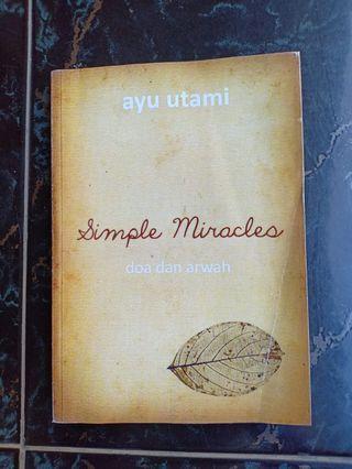 Simple Miracles: Doa dan Arwah karya Ayu Utami