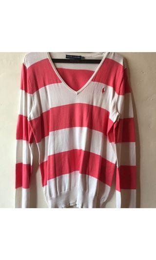 [TITIP JUAL] sweatshirt stripe polo ralph