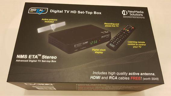NEWMEDIA SET-TOP BOX WITH ANTENNA STB2-T2+ANT2-3A DVB-T2