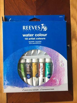 Reeves Watercolour Paint Set (Slightly Used)