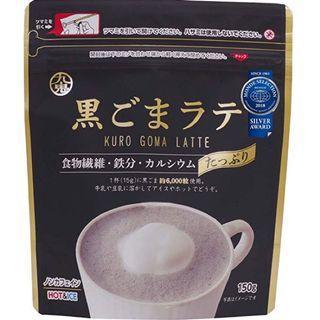 日本 九鬼黑芝麻拿鐵 Latte 粉 150g