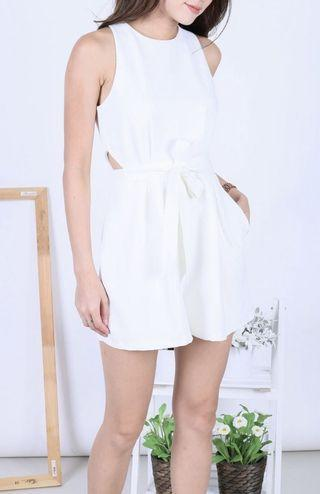SHELBY WAIST CUT OUT ROMPER
