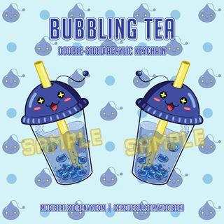 Maplestory Bubbling Tea Double-sided Acrylic Keychain