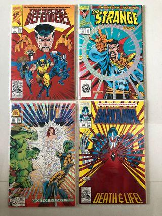 🚚 Marvel comics special limited covers