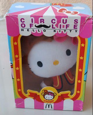 Hello Kitty Mcdo Circus of Life Chimp Stuff Toy