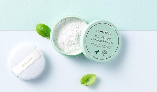 🚚 Innisfree No Sebum Mineral Powder