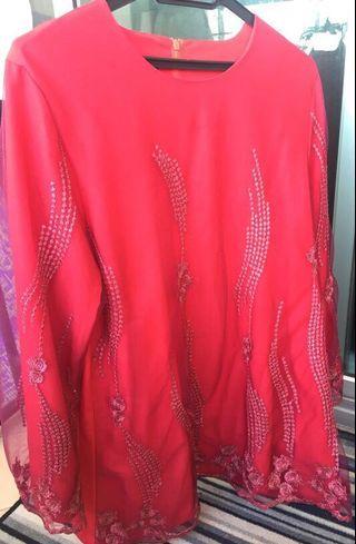 Baju Kurung Moden, lace