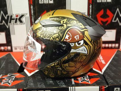 Helmet NHK R1 Karel Abraham Limited Edition