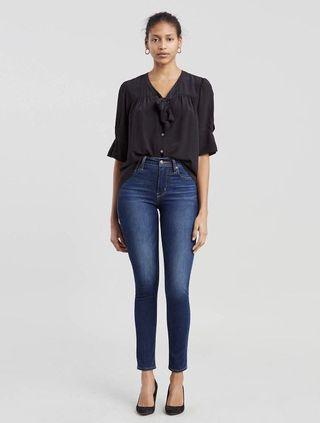 Levi's Premium 721, High Rise Skinny Jeans, Size 27
