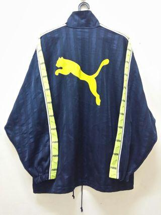 Puma SideTape YELLOW Big Logo Sweater/JACKET