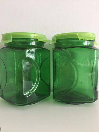 WTS glass lock container