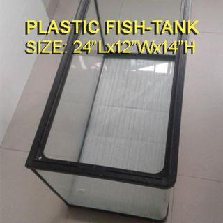 FISH TANK PLASTIC WITH ACCESSORIES