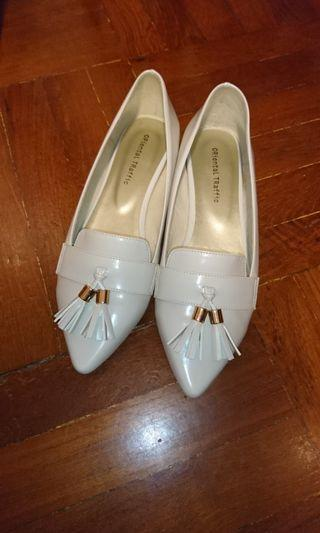 Orientql traffic 平底鞋 白色 97% new