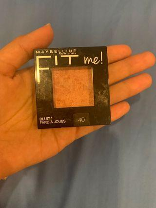 Fit me blusher