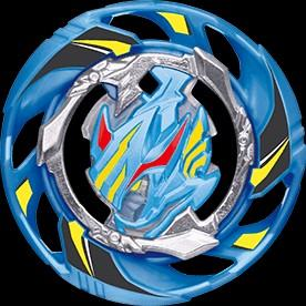 🚚 Beyblade Air Knight blue and white