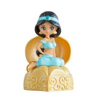 Bandai Gashapon Disney Princess Jasmine 迪士尼公 茉莉公主 擺設公仔 玩具 扭蛋 包郵